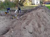 Ausgraben